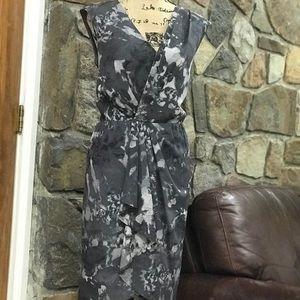 Ann Taylor Loft faux wrap dress size 10